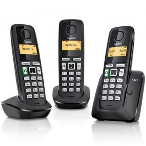 Gigaset A220A X3 Cordless Office phone Syatems
