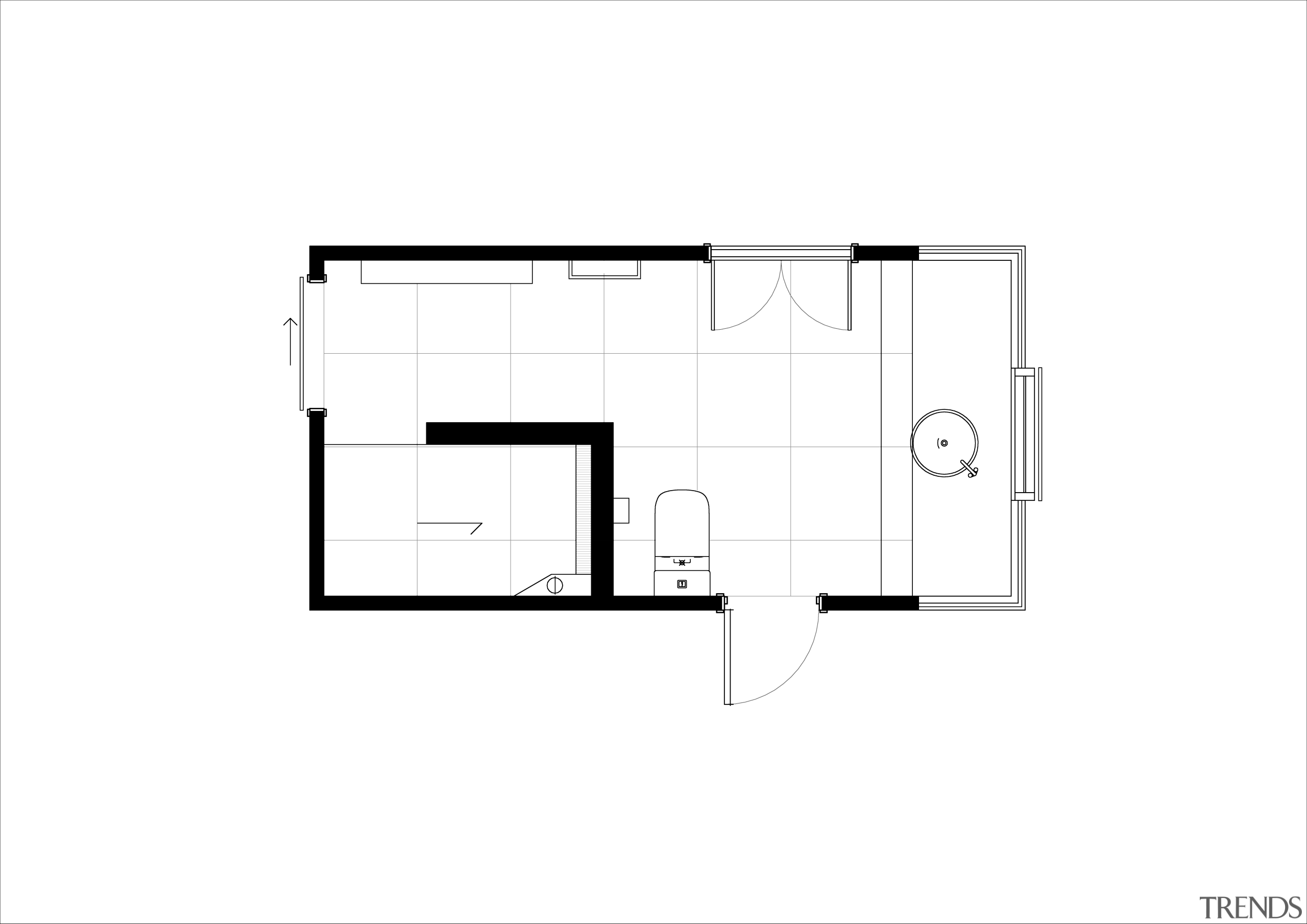 The Floor Plan Shows How The Shower
