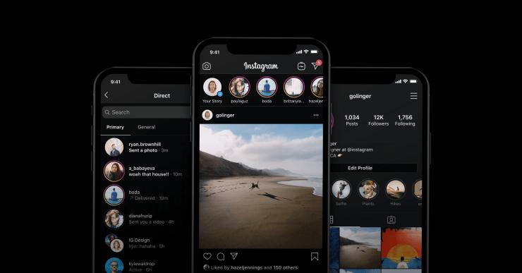 Cara Aktifkan Instagram Dark Mode