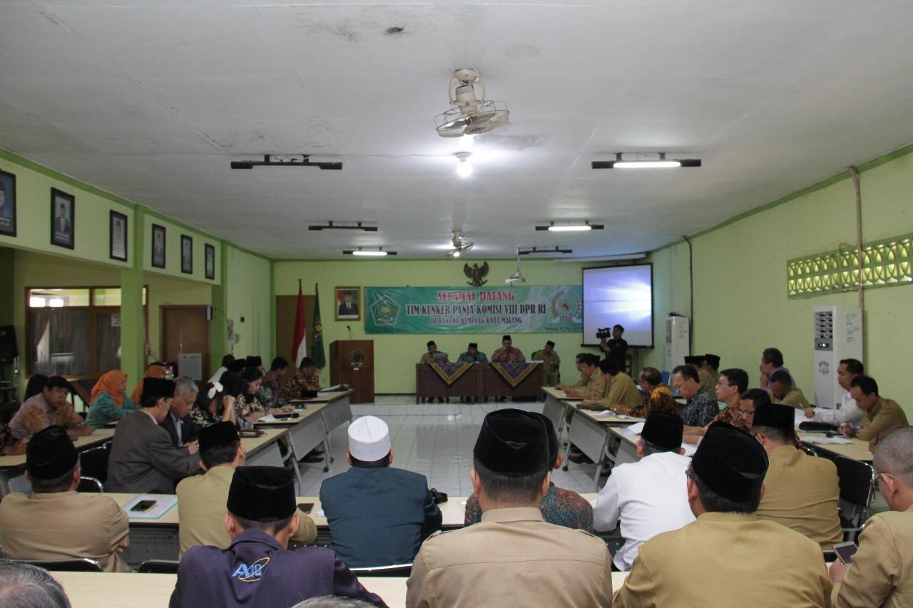 Kunjungan Kerja Komisi VIII DPR RI Uji Publik RUU Pesantren dan Pendidikan Keagamaan