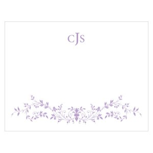 Forget Me Not Note Card Lavender