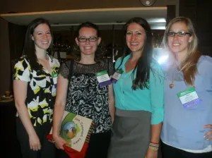 (Left to right): Stephanie Pitcher, Kate Tipple, Kirsten Allen, and Haley Carmer.