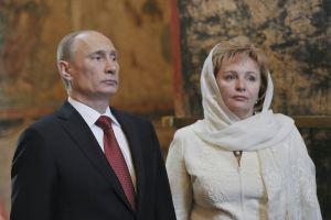 Vladimir Putin and exwife