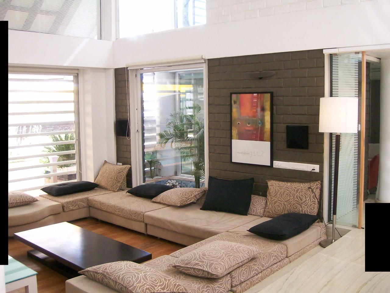 L Shaped Living Room Interior Design India Novocom Top
