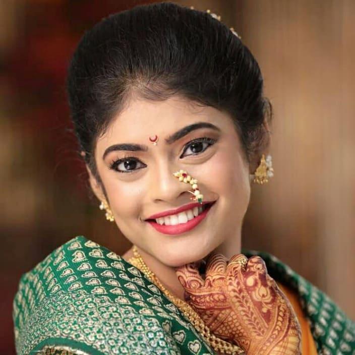 Wedding Hairstyle Maharashtrian: Maharashtrian Makeup Look