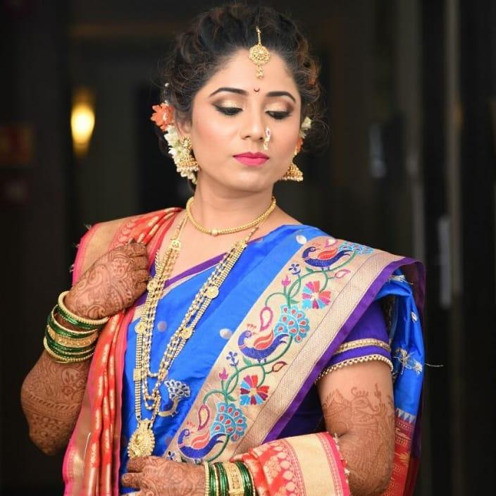Bridal Makeup Marathi