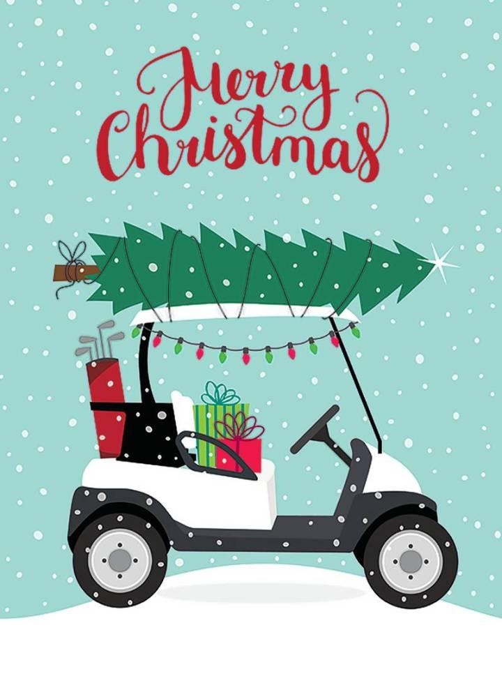 Usga Golf Christmas Cards | Cardbk.co