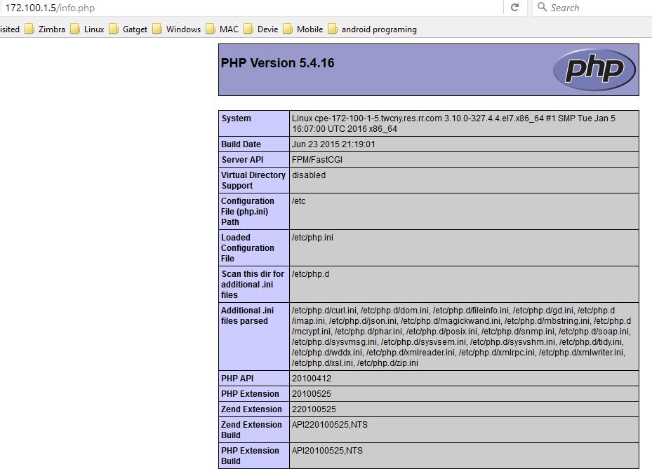 Cara Install PHP dan NGINX on Linux Fedora