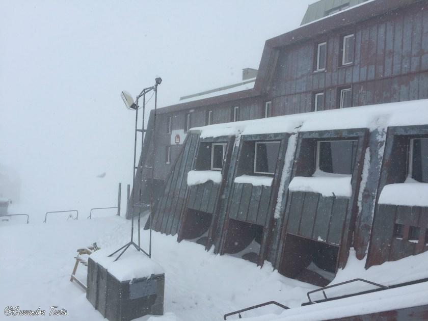 Bufera di neve a Giugno, Passo dello Stelvio