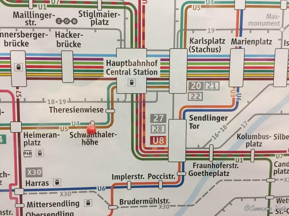 La metro di Monaco di Baviera