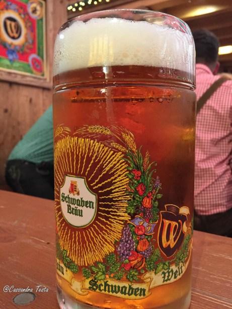 La birra del Cannstatter Volkfest, Stoccarda