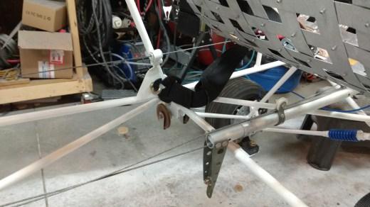 Seat belt harness mounts