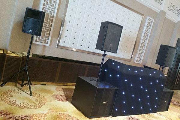 Grand Sapphire Sound Hire Starcloth DJ Booth Croydon