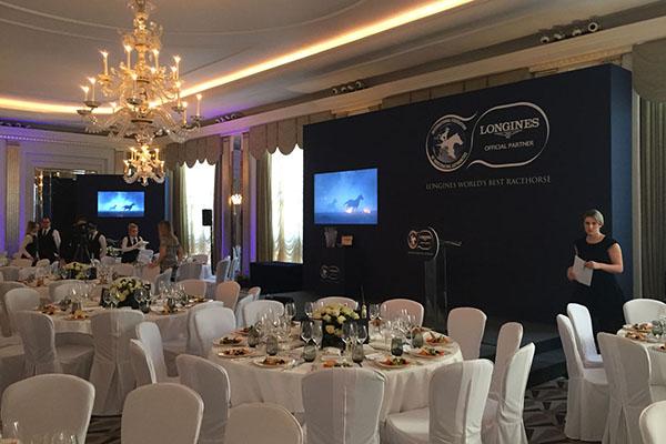 Claridges Ballroom Mayfair Corporate Award Show Party Hire