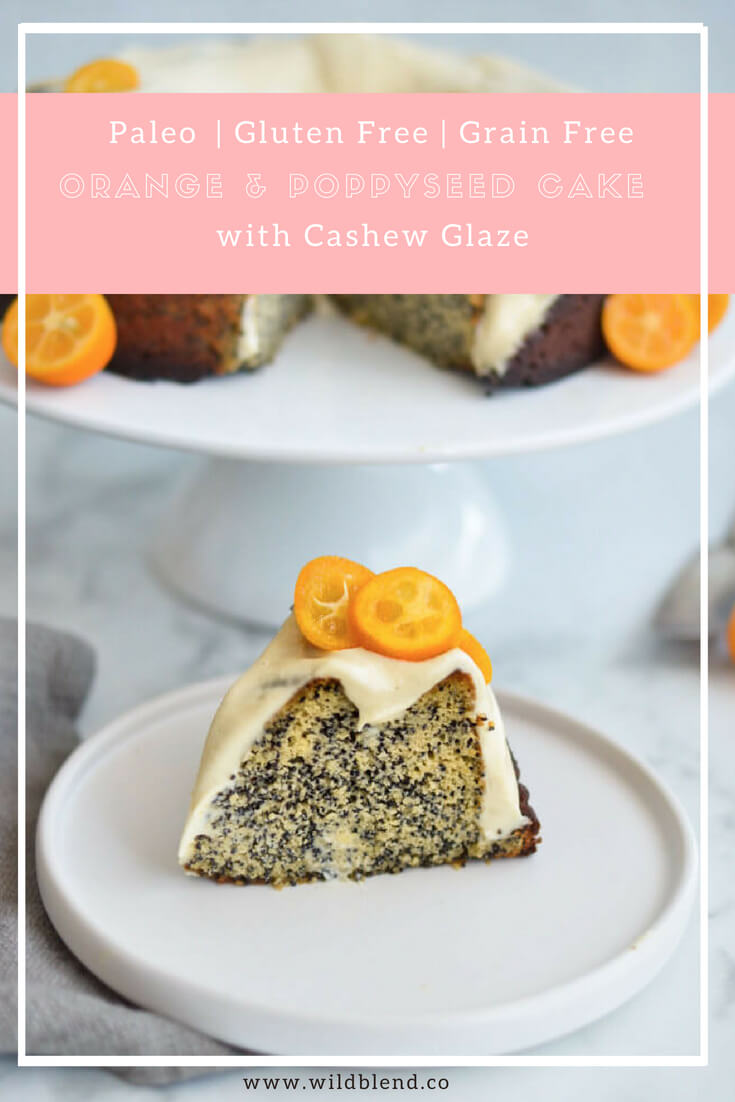 Orange And Poppyseed Bundt Cake