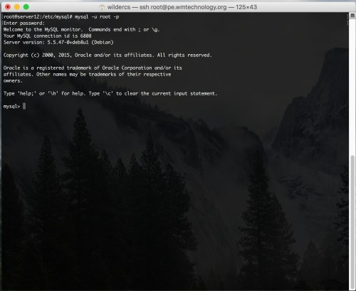 instalar mysql end Debian