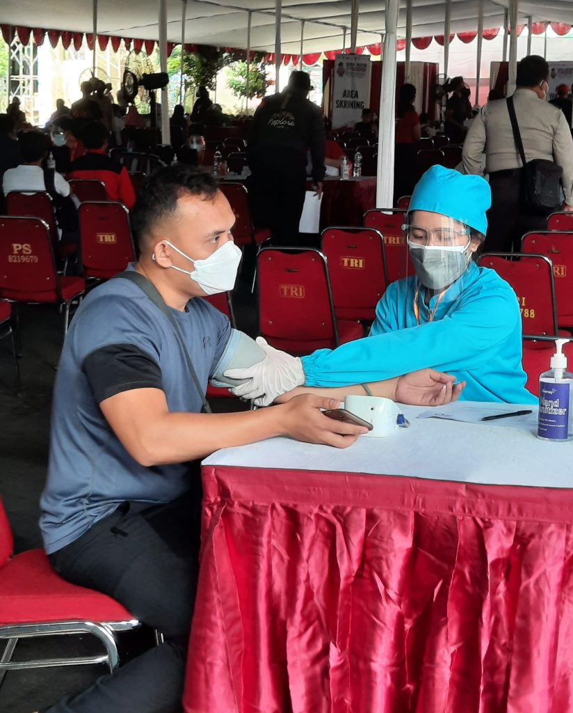 Polres Metro Jaya Jakarta Selatan Buka Gerai Vaksin Presisi untuk Masyarakat