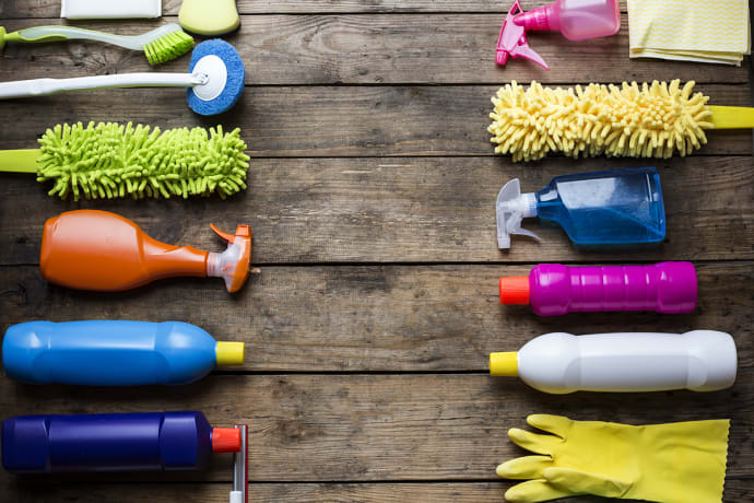 Several Clever House Cleaning Hacks