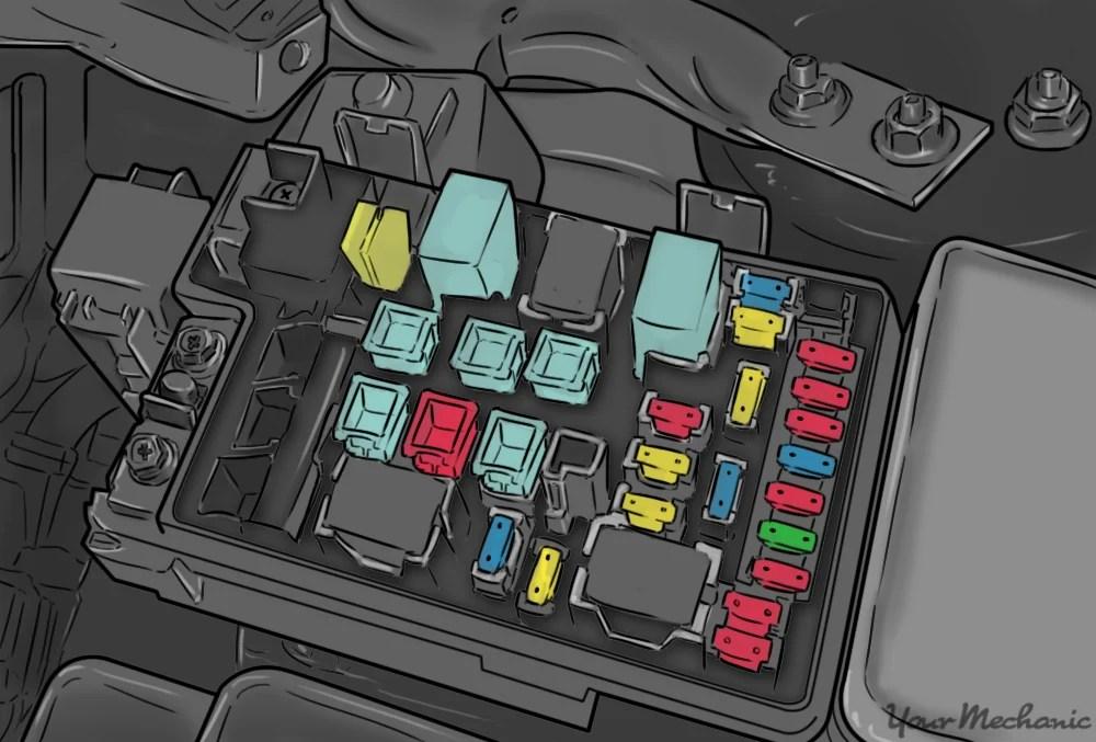 1999 Toyota Tacoma Fuse Box Diagram