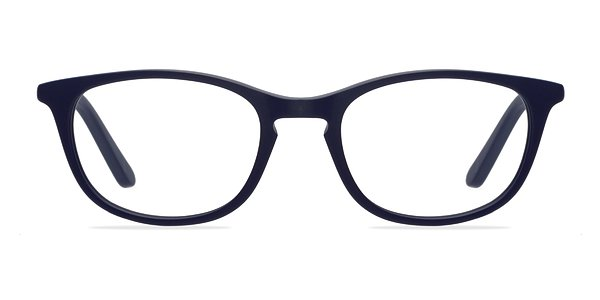 Valentin Navy Women Acetate Eyeglasses EyeBuyDirect