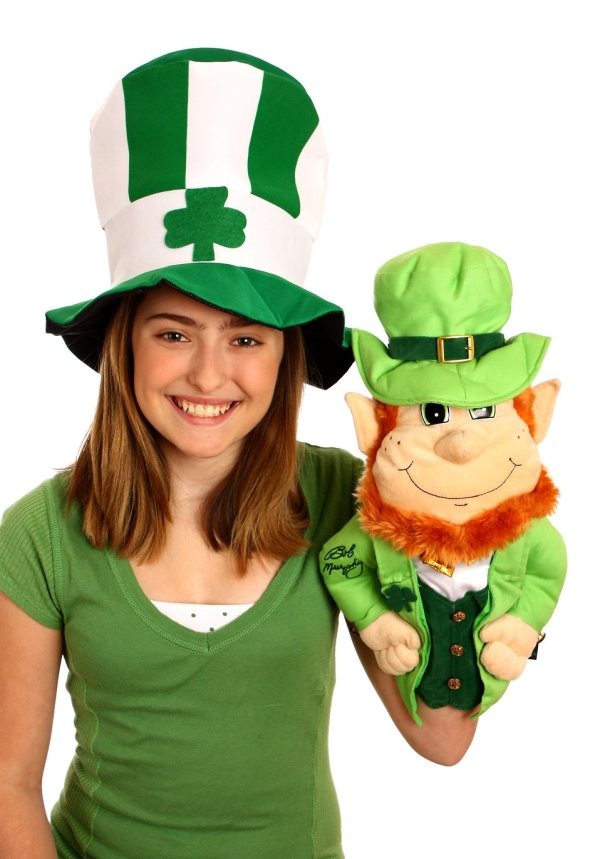 Saint Patricks Day Girl | Free Stock Photo | A cute young ...