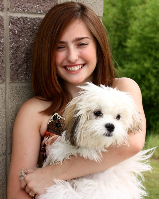 14658 a cute young girl posing with a small dog pv - 10 Reasons For Having A Dog