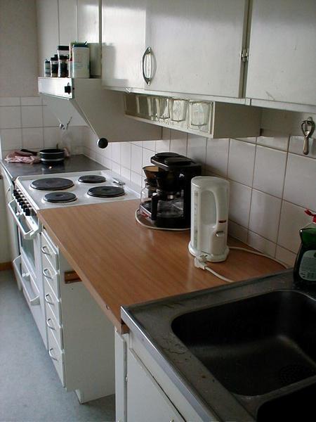 Kitchen Free Stock Photo A Clean White Kitchen With