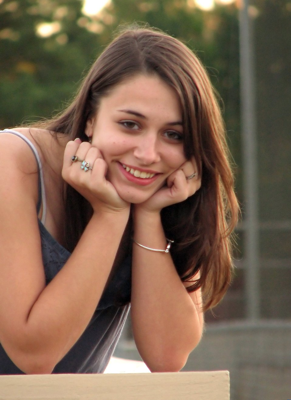 Girl Beautiful | Free Stock Photo | Outdoor portrait of a ... on Beautiful Teen Girl  id=70160