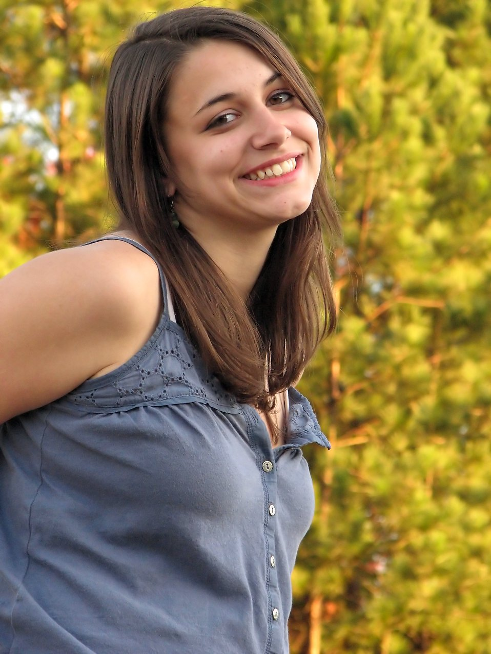 Girl Beautiful   Free Stock Photo   Close-up portrait of a ... on Beautiful Teen  id=75414