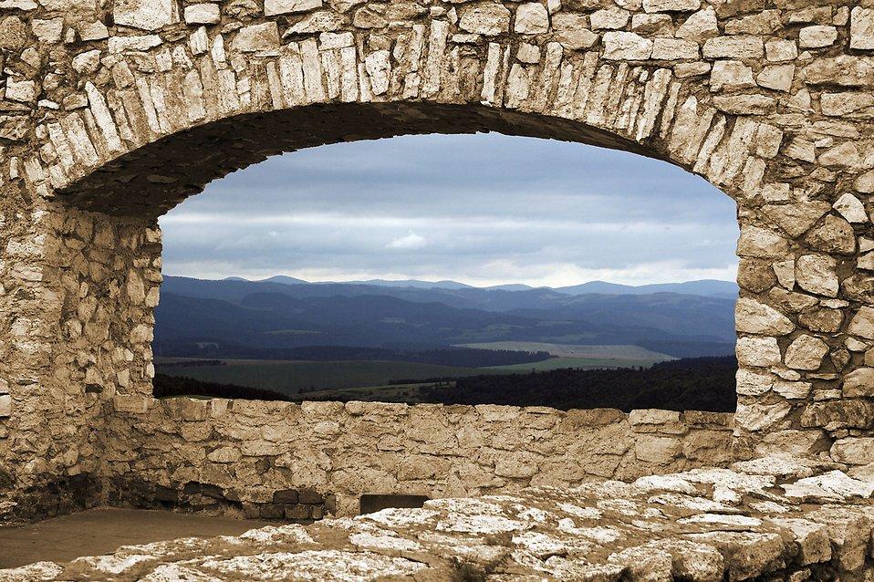 Mountains Landscape Free Stock Photo A Mountain View