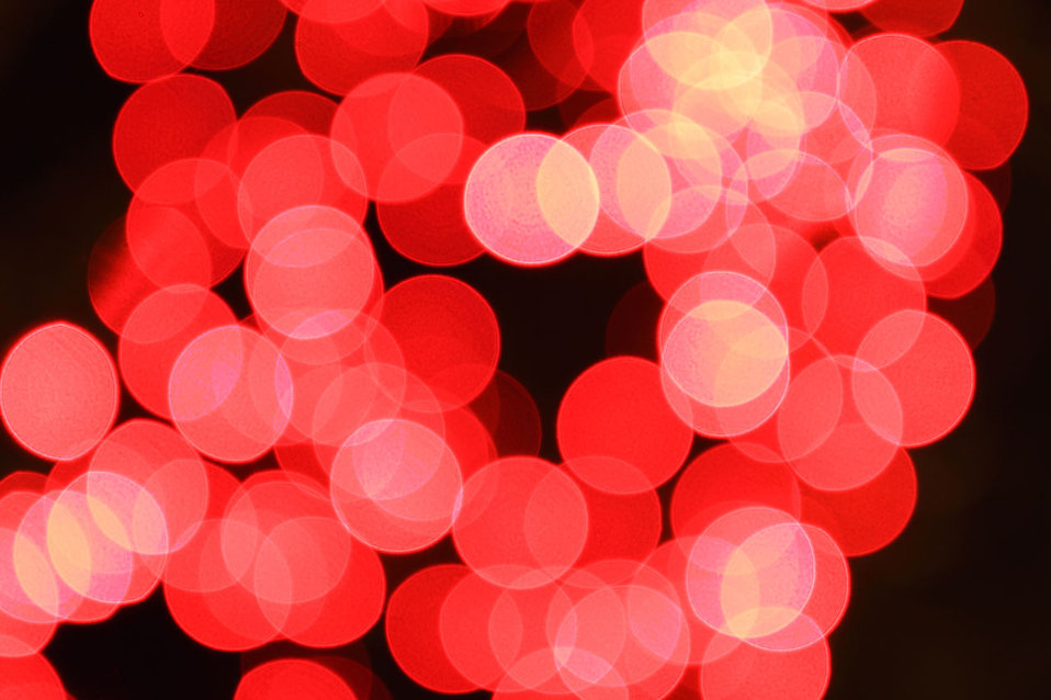 Lights Red Free Stock Photo Blurred Red Lights 9204