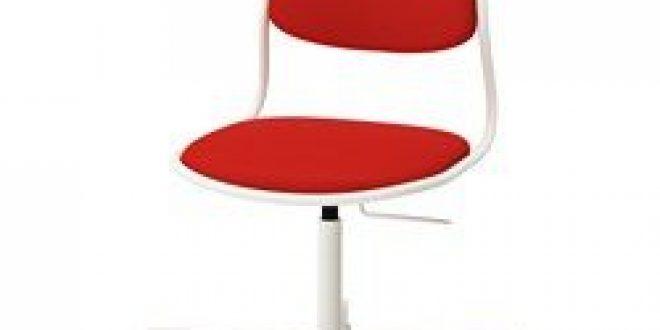 örfjäll Sporren Chaise Pivotante Blanc Vissle Rouge Orange Ikeapedia