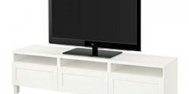 Bestå Mobile Tv Con Cassetti Bianco Ikeapedia