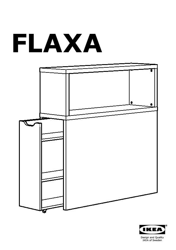 Flaxa Tête De Lit Avec Rangement Blanc Ikea France Ikeapedia