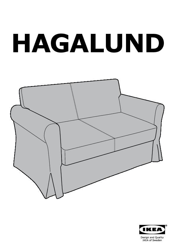 Hagalund Divano Letto A 2 Posti Blekinge Bianco Ikea Italy