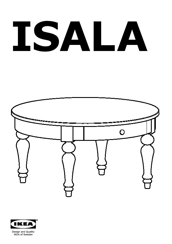 isala coffee table gray ikeapedia