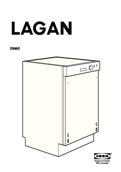 lagan dw60 lave vaisselle encastrable