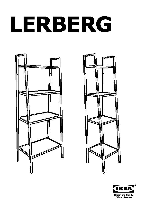 lerberg etagere gris fonce ikeapedia
