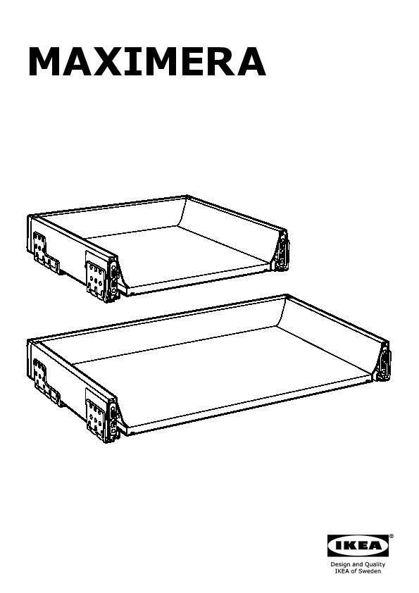 maximera tiroir bas blanc ikeapedia