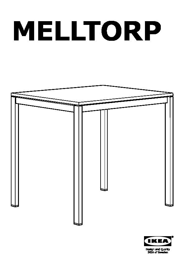 melltorp table blanc ikeapedia