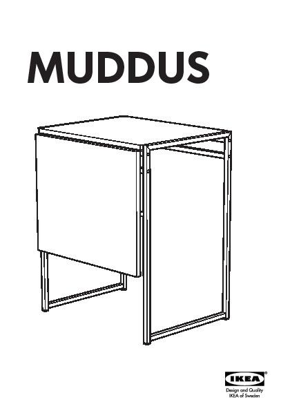 muddus ikea ps 2012 table et 2 chaises