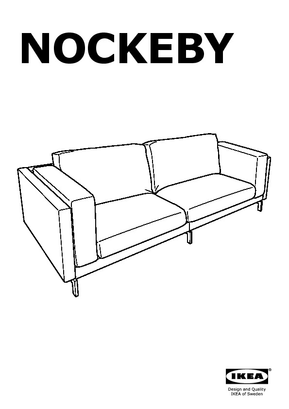 nockeby sofa assembly instructions