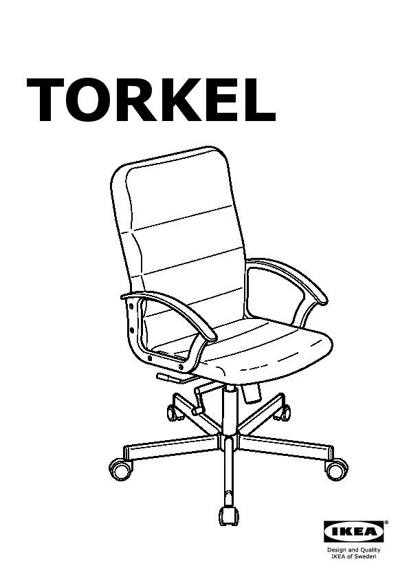 Torkel Swivel Chair Black Ikea United Kingdom Ikeapedia