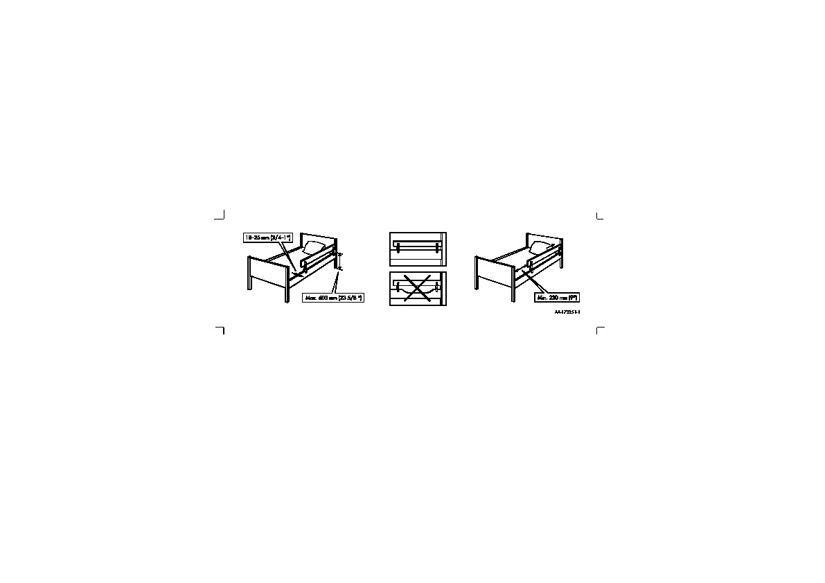 Vikare Barrière Lit Blanc Ikea France Ikeapedia