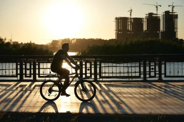 將軍澳單車館公園踏單車