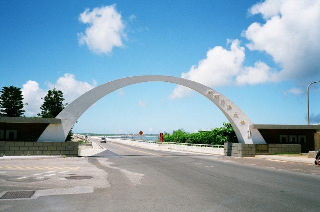 跨海大橋,圖片取自zh.wikipedia.org。