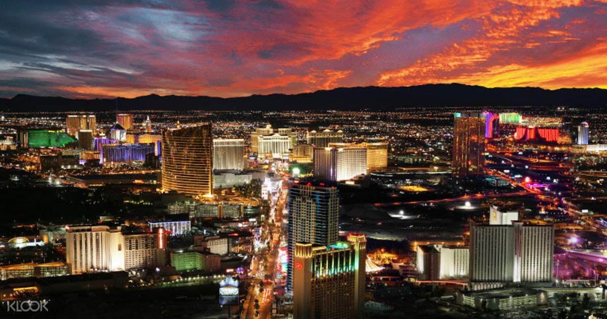 Stratosphere Observation Deck Ticket + VIP Access Las Vegas, USA - Klook UK