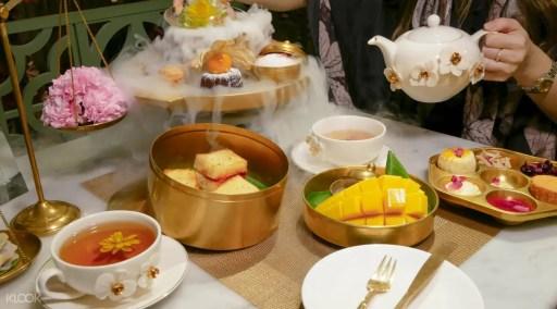 曼谷中央世界商業中心下午茶Divana Signature Cafe