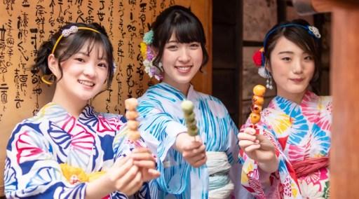 大阪傳統櫻花和服體驗