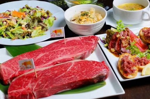 大阪必吃美食,【ステーキハウス 聽】高級熟成和牛料理